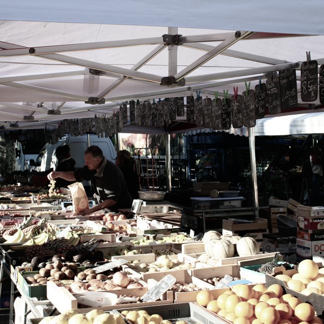 Les marchés de producteurs à Albertville